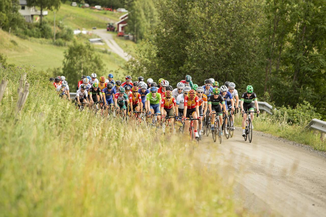 TOUR TE FJELLS: Tour de Hallingdal har skiftet navn, men i morgen er det klart for nok en utgave av Norgescupens eneste etapperitt. Foto: Pål Westgaard