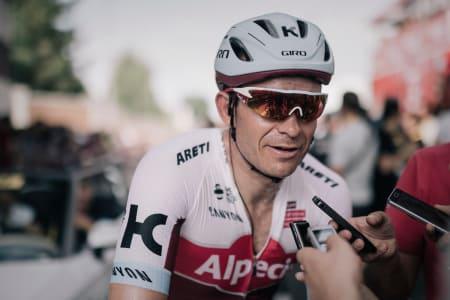 PÅ HÅRET: Alexander Kristoff ble europamester med minst mulig margin. Men fikk han hjelp av Edvald? Foto: Kristof Ramon.