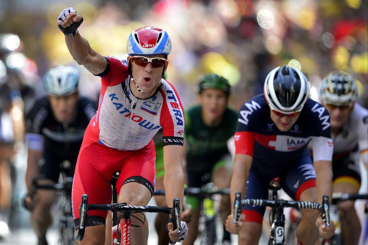 SUPERSPURTER KRISTOFF: Nordmannen sikret sesongens femte seier på dagens etappe av Paris-Nice. Foto: Cor Vos.