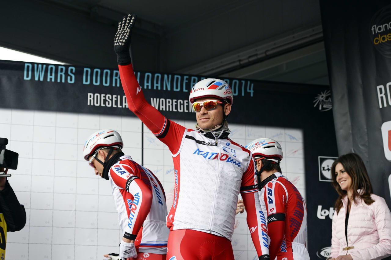 HALLA, FOLKENS! Alexander Kristoff er klar for årets Tour of Norway. Foto: Cor Vos.