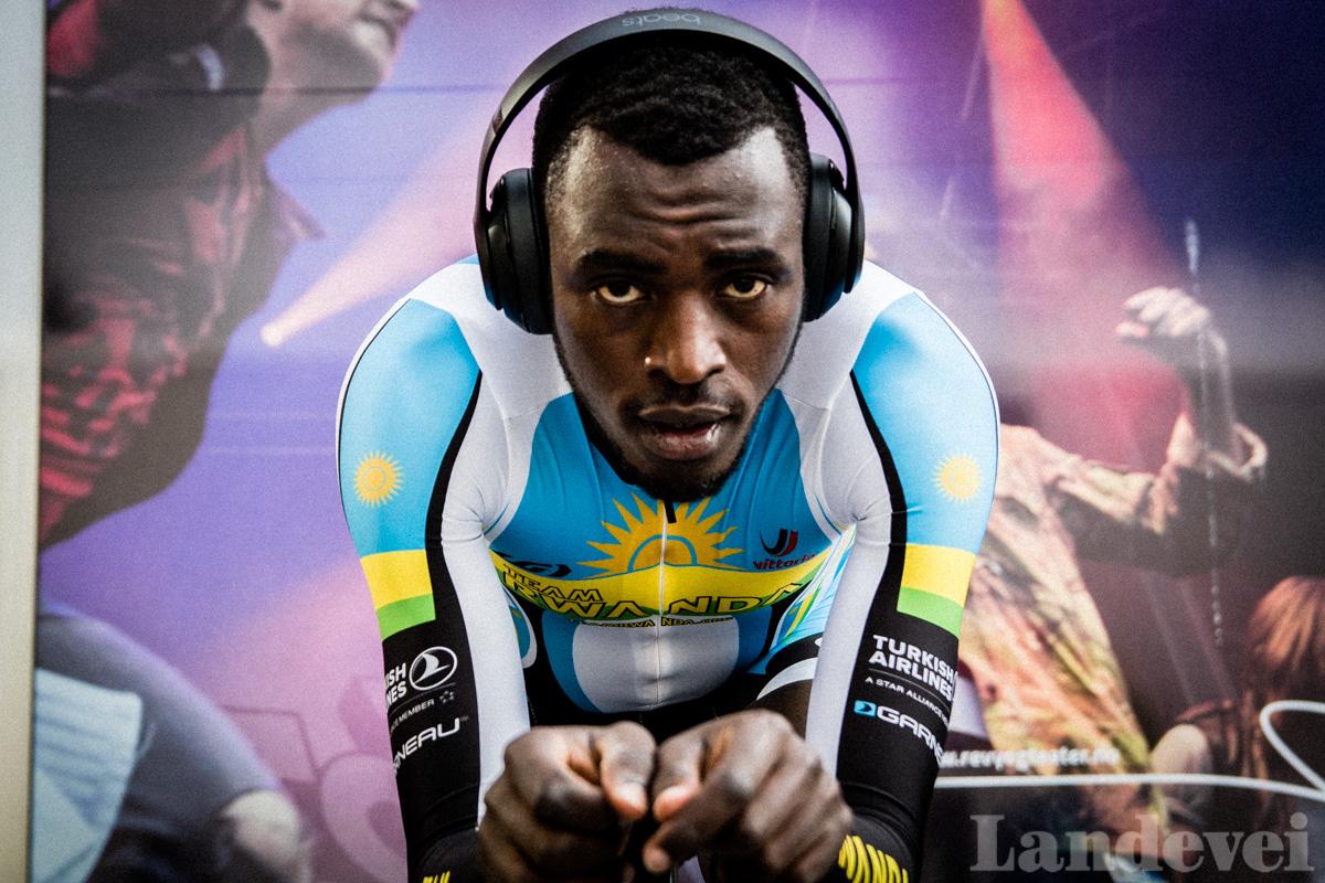 MERITTERT: Valens Ndayisenga har vunnet Tour of Rwanda to ganger, og VM-tempoen er en del av oppkjøringen for å vinne igjen. Foto: Marcus Liebold.
