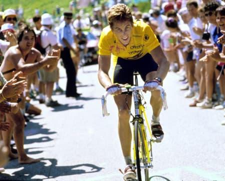 SKJEBNESVANGER: Greg LeMond ble i 1987 skutt av svogeren sin. Foto: CORVOS.