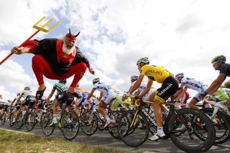 ENDELIG: I morgen starter endelig Tour de France! Velkommen til Utrecht! Foto: Cor Vos.