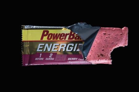 SEIG PIONÉR: Powerbar er originalproduktet som startet markedet for energibarer til syklister. Foto: Henrik Alpers.