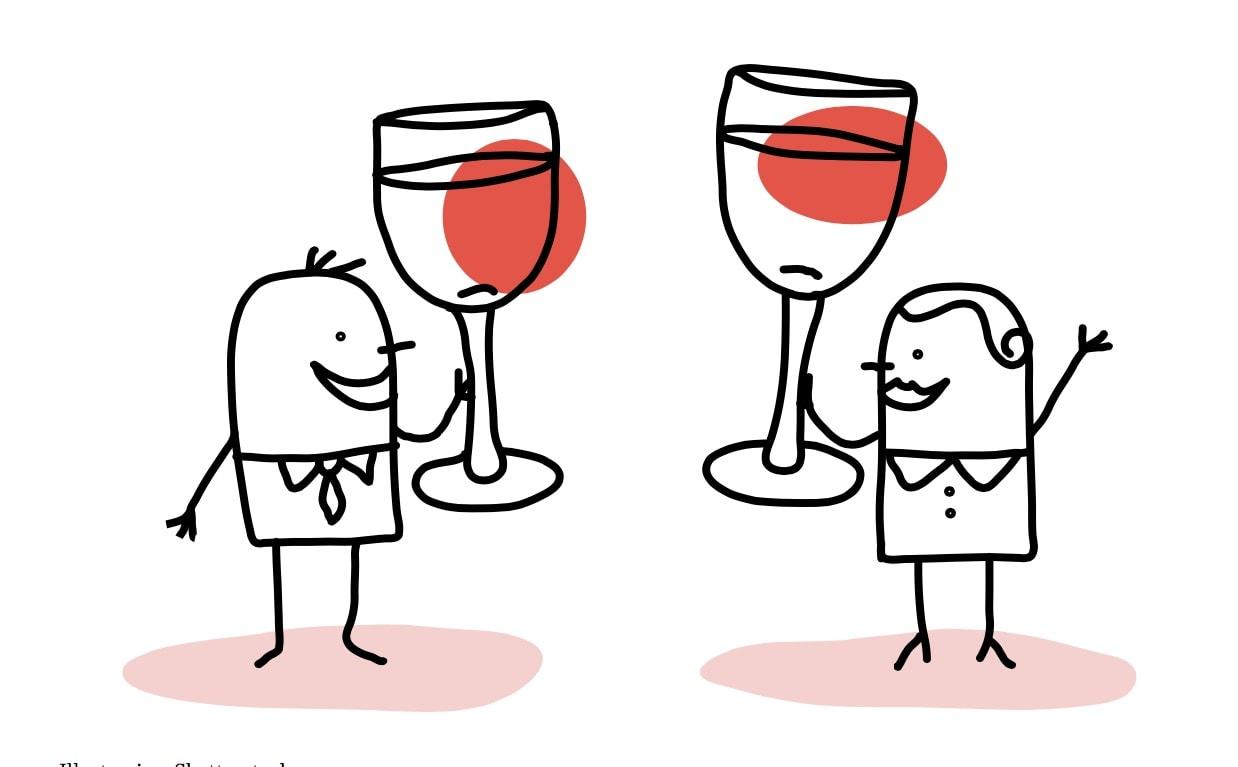SKÅL! Det er hviledag i giroen, og vi tar et dypdykk i vinen fra området vi er inne i nå. Illustrasjon: Shutterstock.