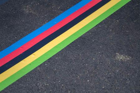 START: VM i Bergen begynte ved denne linjen.