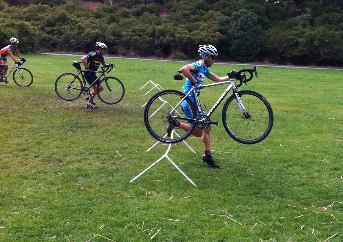 TA-TA! Se, så lett! Med denne plastleken fra Crosspropz slipper du å lemleste deg selv eller sykkel når du trener på å hoppe barrierer. Foto: Crosspropz.