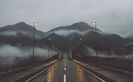 VÅTT OG KALDT: På Landeveis lanseringsaften kan du møte artikkelforfatteren av det våte og kalde japaneventyret, Alexander Kloster-Jensen.