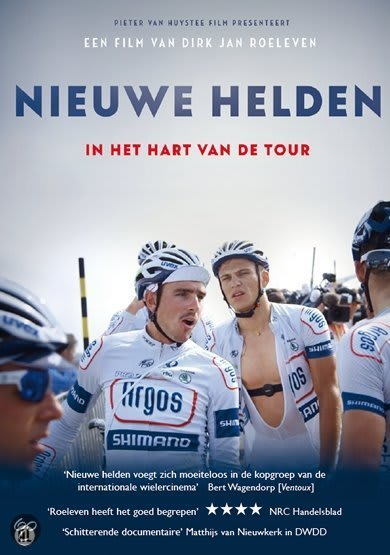 """OMSLAG: Dokumentaren """"Nieuwe Helden"""" tegner et portrett av en ny generasjon syklister. Foto: Amstelfilm."""