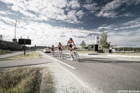 NORGESMESTERNE: Frederik Strand Galta, Håvard Blikra og Sven Erik Bystrøm.