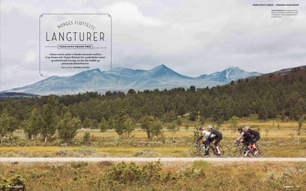 PEER, DU LYVER! Runden med Peer Gynt Seterveg er bare en av mange store opplevelser du kan lese mer om i Landevei #23: Foto: Magnus Roaldset Furset.