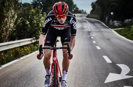 Lotto-soudal syklist Carl Fredrik Hagen sin coronatrening