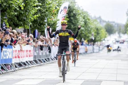 SEIER: Åsmund Løvik fra Team Fixit.no vant Norgescuprittet i Sandefjord. Foto: Pål Westgaard