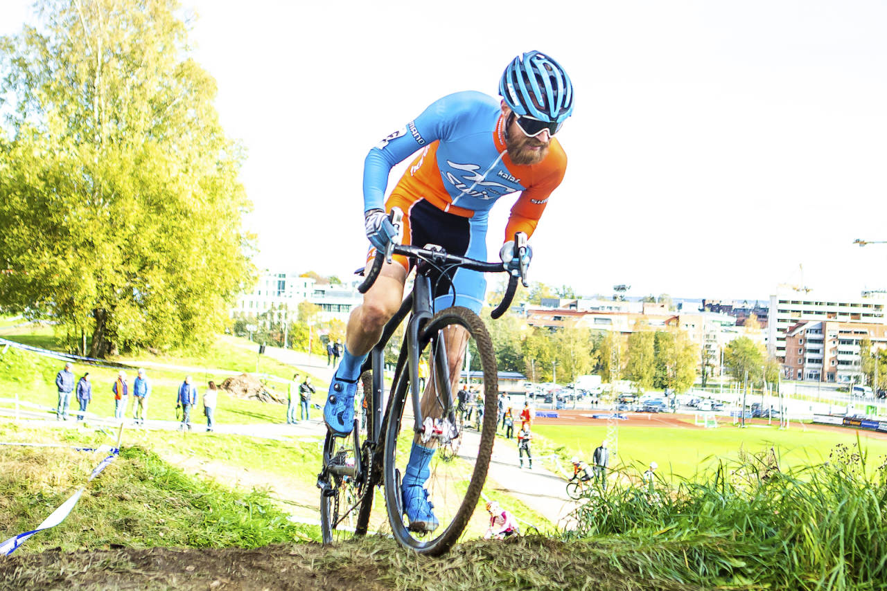 EVIG SENIOR: Morten Vaeng bikker 45 år om ti dager, men går ikke over i masterklassen i overskuelig framtid. Foto: Pål Westgaard