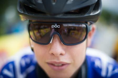 Nå også på sykkel! Journalist Peter Andreas Prydz Gørbitz