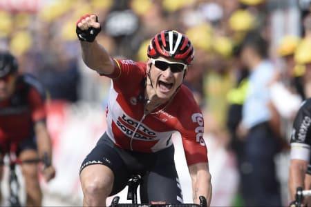 GORILLA: Andre Greipel er i storform og tok sin tredje etappeseier på dagens etappe. Foto: Cor Vos