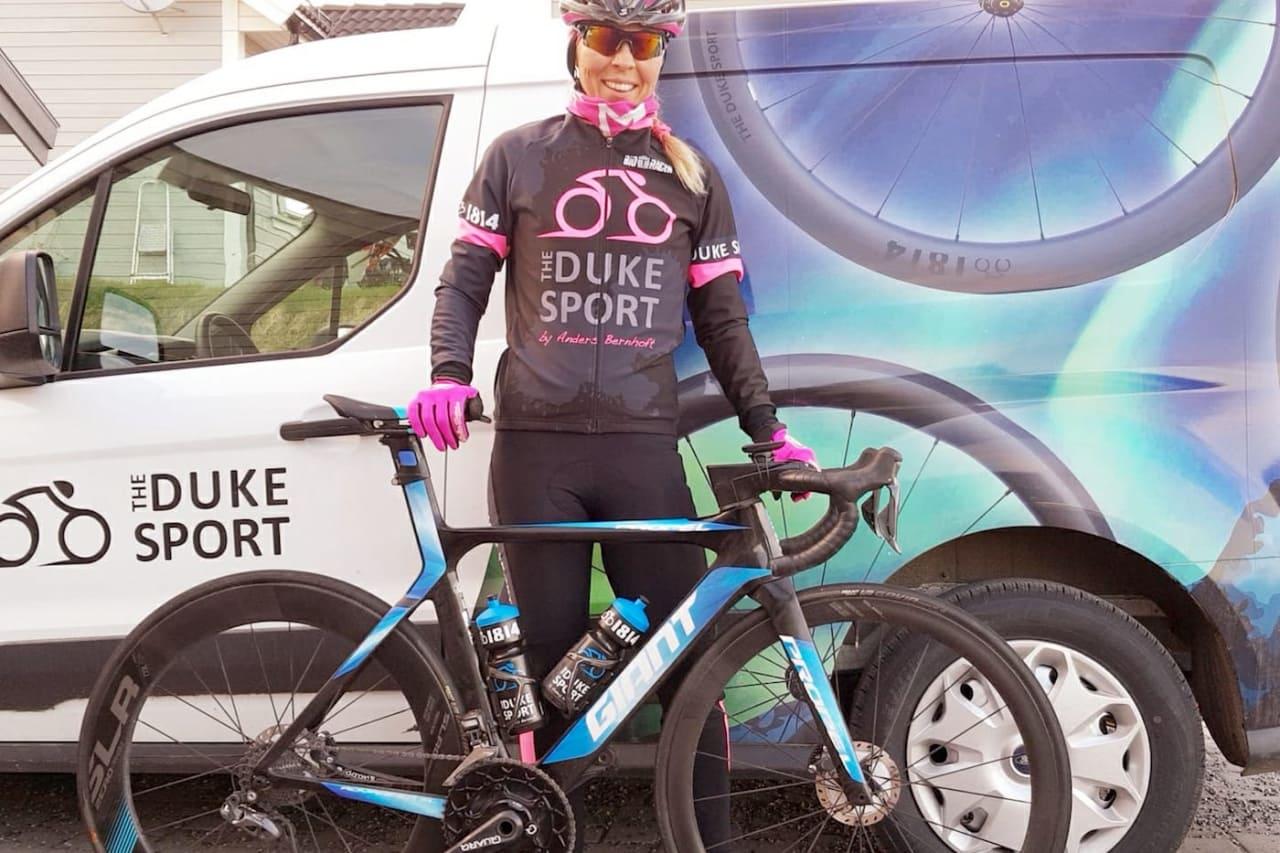 ERFAREN: Monica Storhaug har syklet Jotunheimen Rundt flere ganger. I år skal hun også lede Duke Sport-laget til ny damerekord på Lillehammer-Oslo.