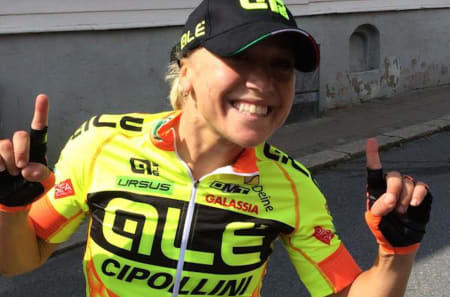 Shelley Olds (Ale Cipollini) tok seieren på siste etappe i Ladies Tour of Norway 2015. Foto: Ladies Tour of Norway