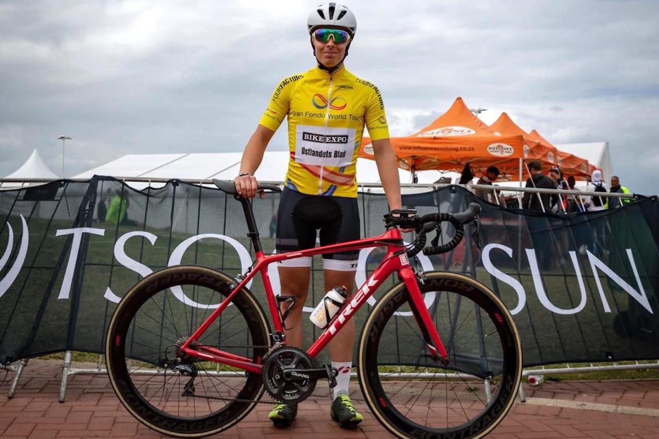 Jonas Orset vant Gran Fondo World Tour sammenlagt for andre år på rad. Foto: Kent Erik Harridsleff