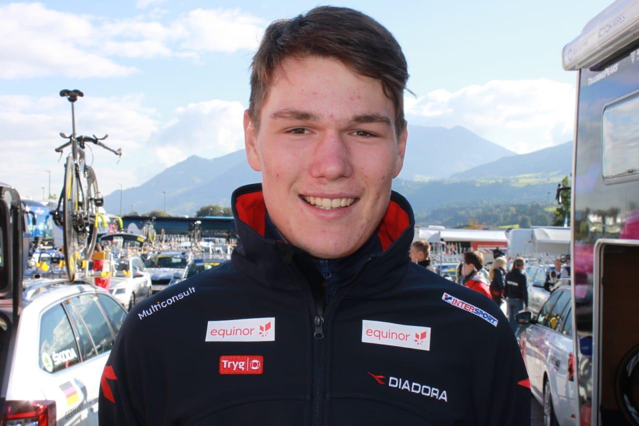 BESTE NORSKE: Søren Wærenskjold ble best av de norske U23-gutta med 15,plass i EM-fellesstarten i Alkmaar. Foto: NCF