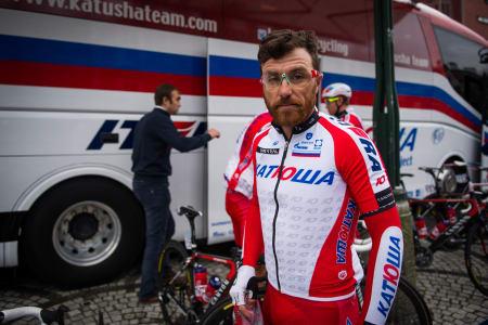 KONG PAOLINI: Årets kuleste rytter vil mange hevde. Stadig flere syklister følger trenden med skjegg.