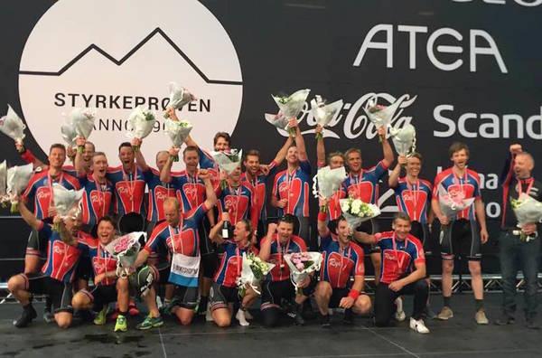 FORSVARTE SEIEREN: Rye Expressen vant Trondheim-Oslo i år som i fjor. Foto: Michelle Engebretsen