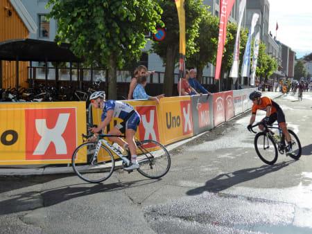 Per-Christian Eidevik ble nylig nordisk mester for veteraner, men rytteren fra Team Kjekkas fikk det tungt i Sandefjord.