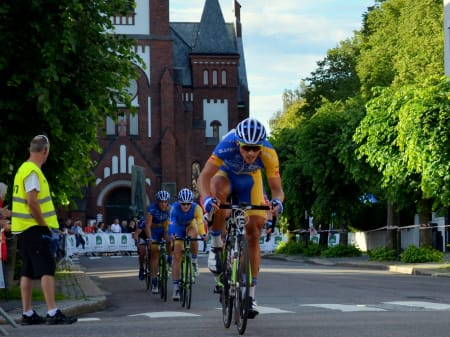 Christer Jensen og resten av Ringeriks-Kraft kjempet hardt for å tette luken, men uten suksess.