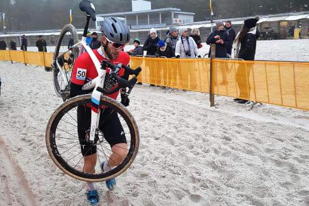TOPP-20: Otto Andreas Solberg drømte om topp 20 i kross-VM, og reiser hjem med 18.plass. Foto: Lars Kabbe