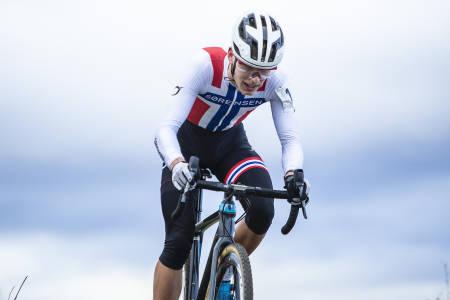 FORNØYD: Regjerende norgesmester Tobias Johannessen vant Norgescuprittet i Sandnes med overlegen margin. Foto: Pål Westgaard