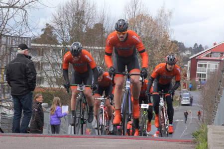 SEIER: Kjekkas vant Enebakk Rundt 2016, og med et større lag i år håper de å forsvare tittelen på mandag. Foto: Ingeborg Scheve