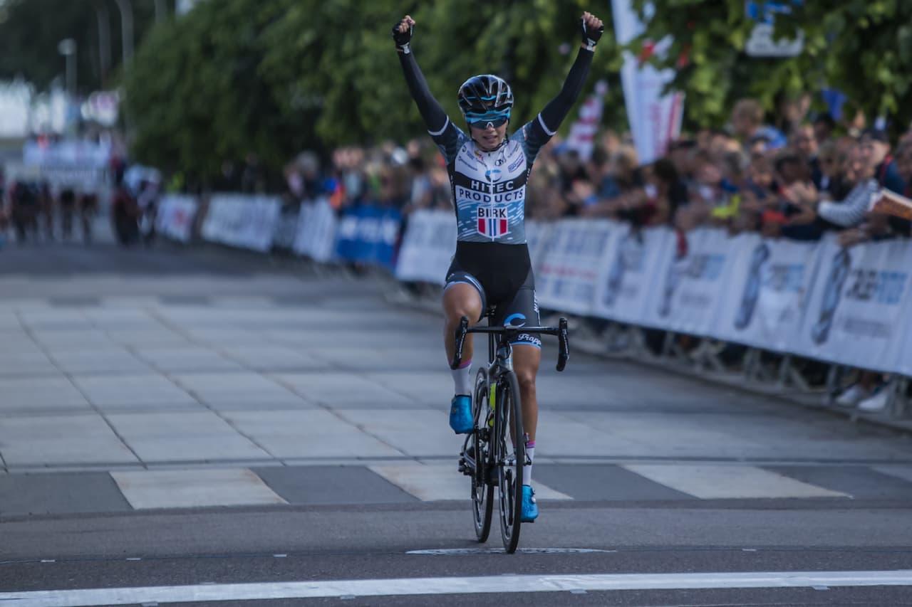 Susanne Andersen vant fredagens gateritt i NM. Foto: Pål Westgaard
