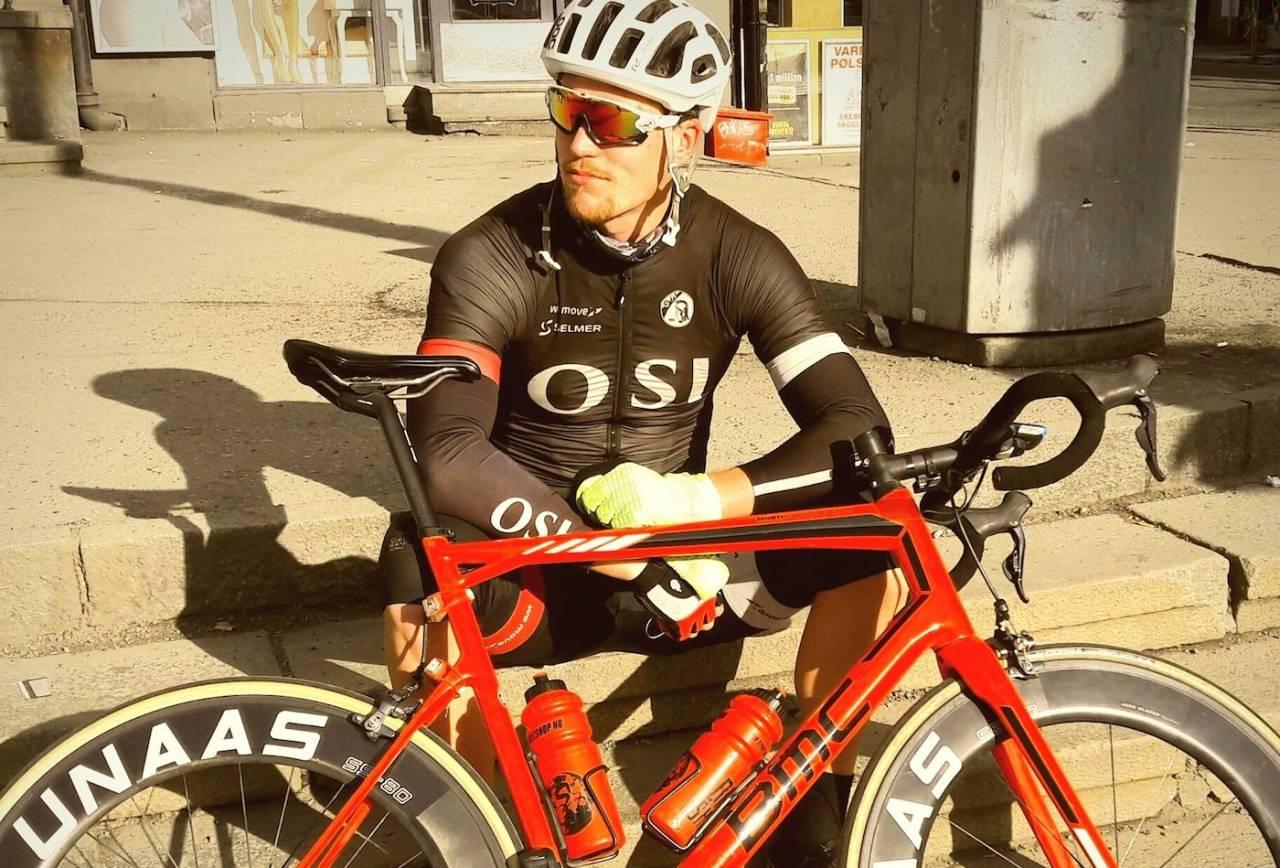 TITTELFORSVARER: Knut Sande vant fellesstarten Trondheim-Oslo i fjor, og stiller enda bedre forberedt i år. Foto: Laurence Gibbons