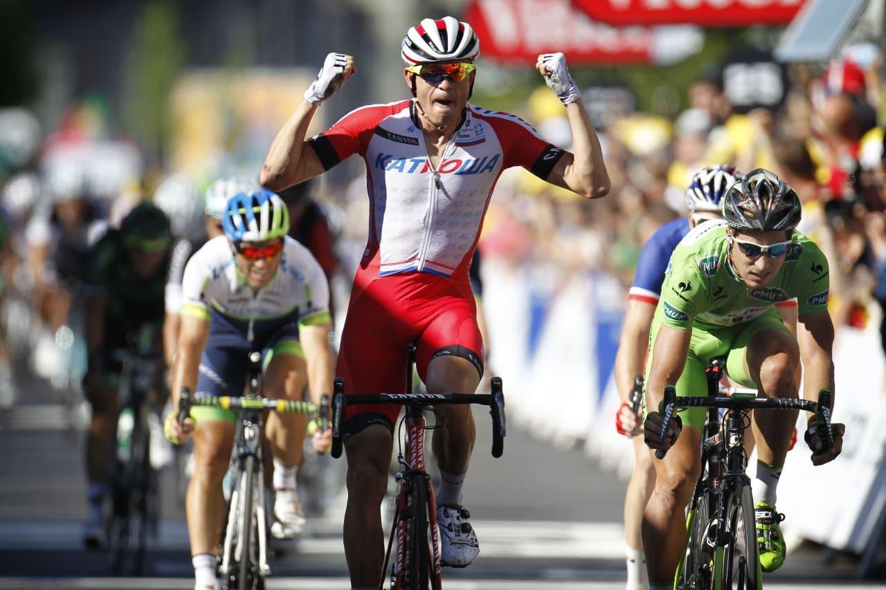 JAKTER SEIER: Alexander Kristoff har aldri vunnet en etappe i Paris-Nice, vi tror han gjør det ila. uken. Foto: Cor Vos.
