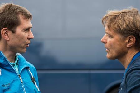 RINGREVER: Atle Kvålsvoll og Dag Otto Lauritzen synes alt var bedre før!