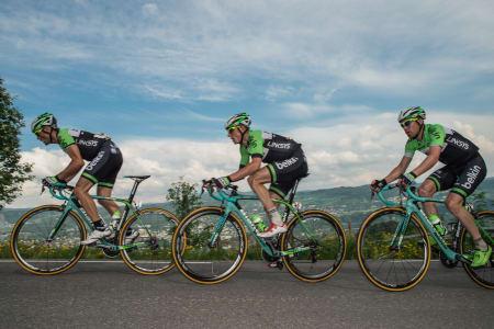 ANSVAR: Belkin hadde et knallsterkt lag og satte tydelig preg på årets Tour of Norway.