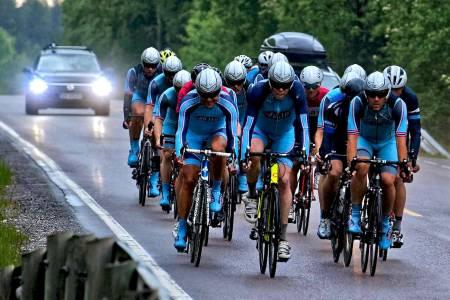 OVERRASKELSE: Team Follo har mobilisert kraftig siden sjetteplassen i 2013 og kan bli helgas overraskelse om de får alle marginer på sin side. Foto: Ola Morken