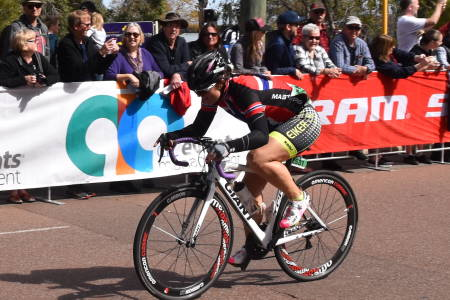 NORGESMESTER: Camilla Helen Landsverk tok NM-gullet på fellesstart forrige helg. Her fra Master-VM i Australia i fjor. Foto: Pål Fritsvold