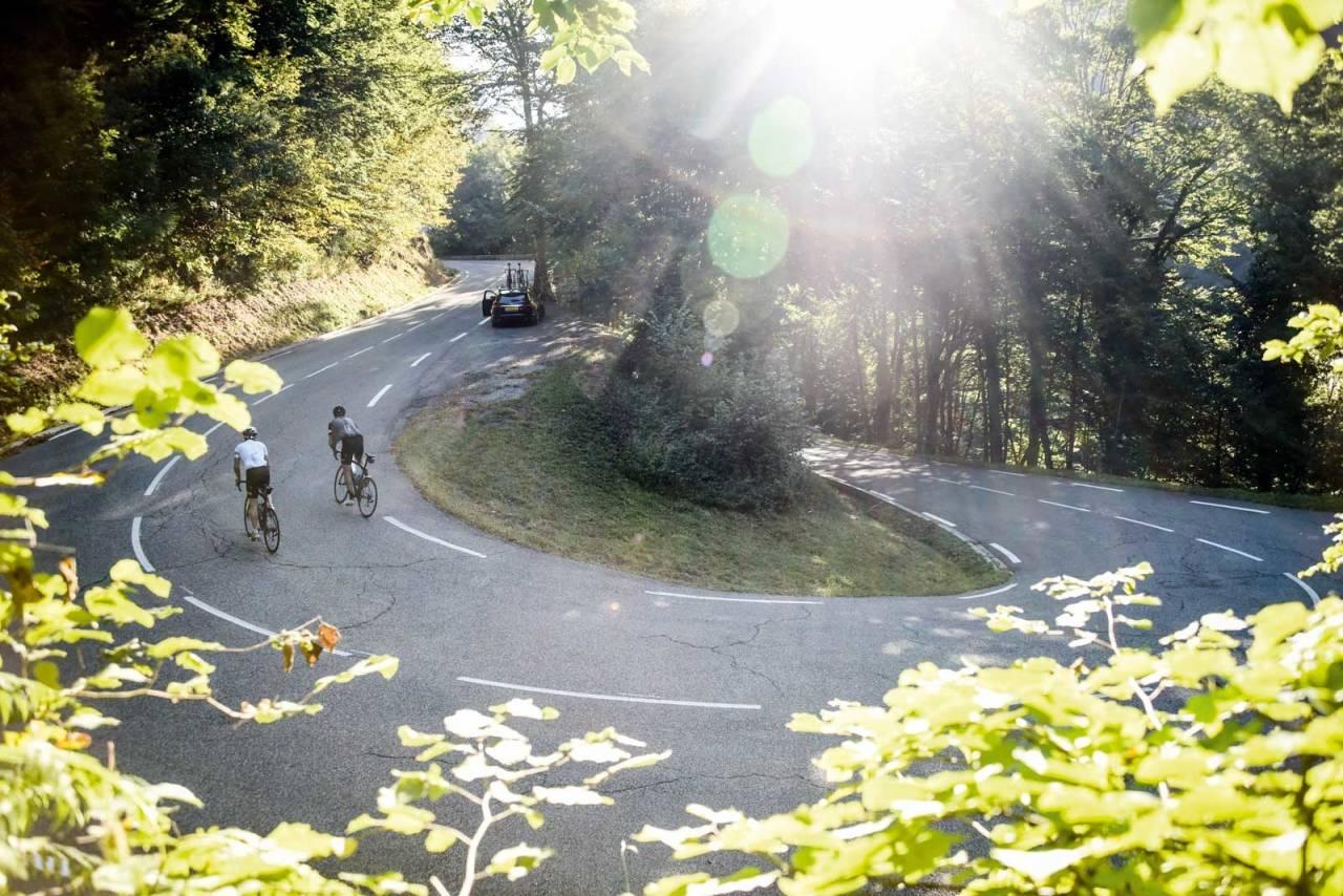 DRØMMEDAG: Hva skal vi gjøre når ikke slike dager lenger får deg ut på sykkelen? Foto: Henrik Alpers.