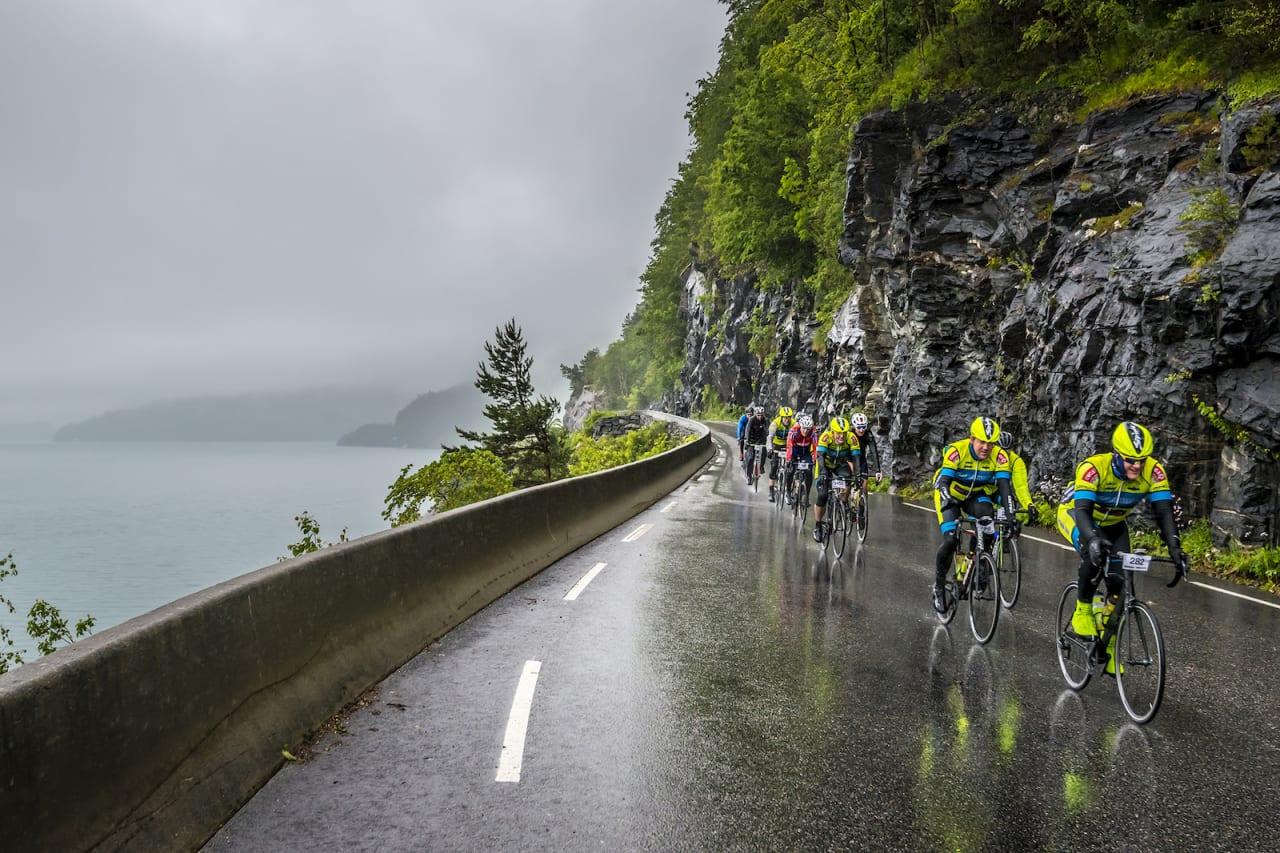 HUSTRIG: Bergen-Voss var en fuktig fornøyelse i år. Foto: Tom Guldbrandsen