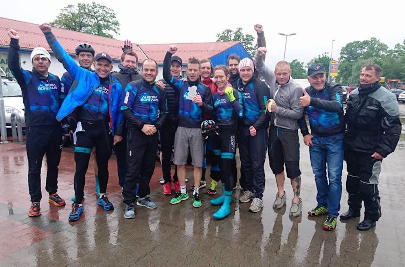 NORDLYSET vant Vestfold Rundt etter nesten fire timer i regn og motvind. Foto: Aurora Borealis