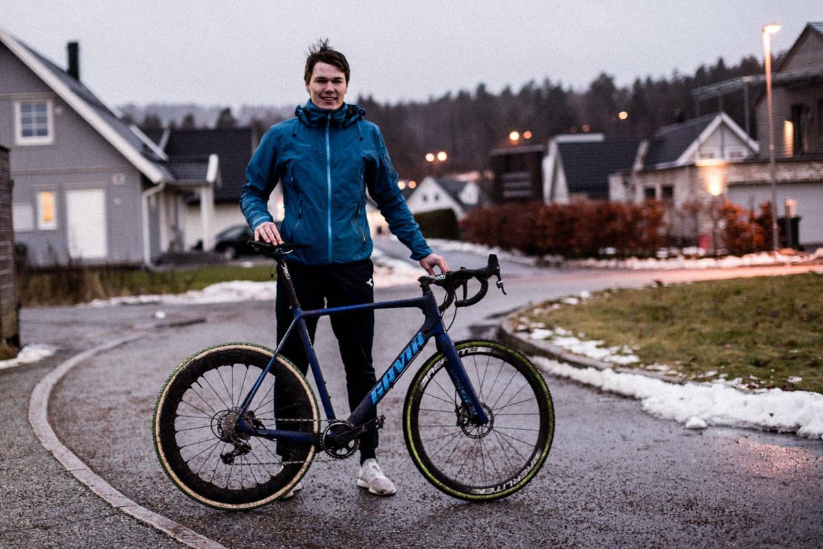GAVIA ULTIMATE: Felgene er den eneste oppgraderingen på sykkelen til Søren Wærenskjold.