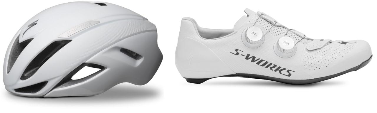 Specialized S-Works Evade II hjelm og S-Works 7 sko