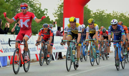 SUPERSPURTER: Alexander Kristoff har herjet med konkurrentene så langt denne sesongen. Foto: Cor Vos.