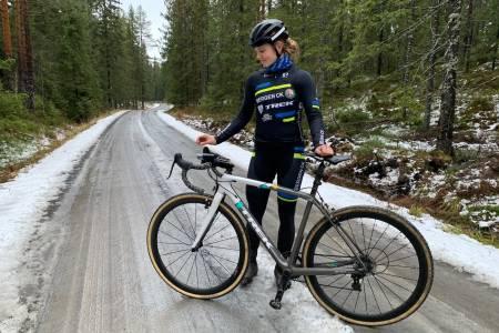 LEDER: Ingrid Moe leder Norgescupen i kross i forkant av den siste ritthelgen.
