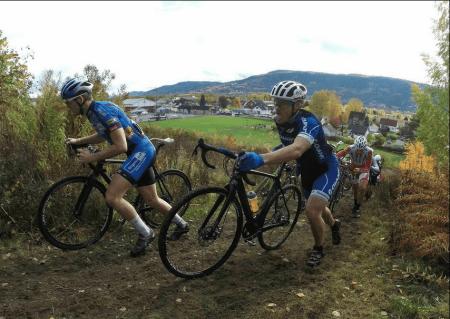 BIFF: Jostein Hole har mesterskapsmedaljer i en haug av ulike sykkeldisipliner, men i Drammen ble det tøft. Foto: Torstein Heen.