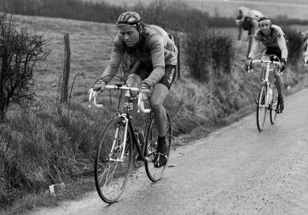NESTEN: Dag Erik Pedersen på vei opp til teten, LBL 1986. Til slutt blir det en sur tredjeplass, som likevel er Norges beste plassering i rittet, også når 2018-utgaven er unnagjort.Foto: Cor Vos