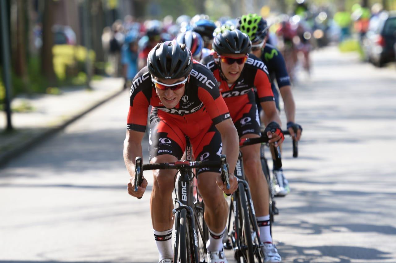 BMC-DOBBEL: I går vant Ben Hermans, i dag vant Silvan Dillier, men sammenlagtseieren glapp for BMC. Foto: Cor Vos.