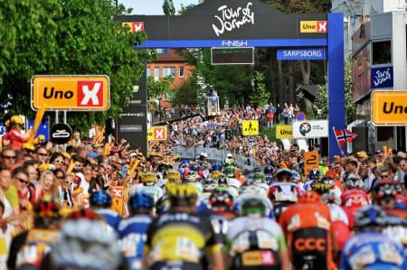 STRØKEN LØYPE: Sarpsborg avslutter Tour of Norway 2016, i en løype Mads Kaggestad mener står til terningkast seks. Foto: TON.