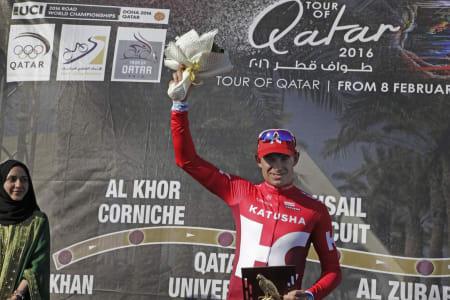 I STORFORM: Alexander Kristoff har fått en flott start på sesongen i Tour of Qatar. Foto: Cor Vos.